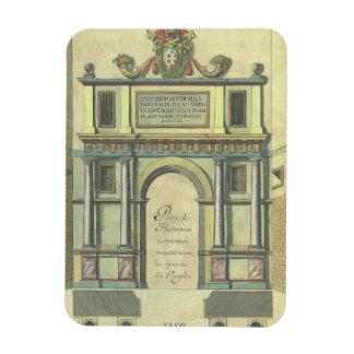 Vintage Church Door Entry Renaissance Architecture Magnet