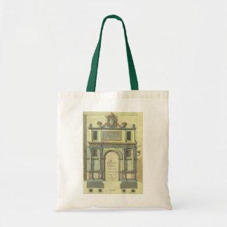 Vintage Church Door Entry Renaissance Architecture Tote Bag