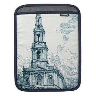 Vintage Church St. Mary le Strand London England Sleeve For iPads
