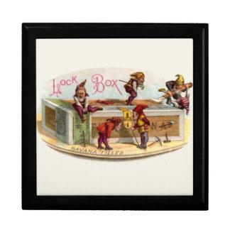 Vintage Cigar Box Gnomes