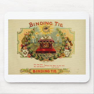 Vintage Cigar Box Label  BINDING TIE   (15) Mouse Pad