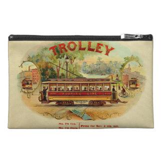 Vintage cigar box label travel accessories bags