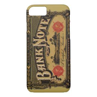 Vintage Cigar Label Art, Bank Note Finance iPhone 7 Case