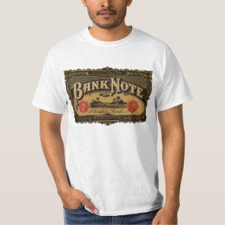 Vintage Cigar Label Art, Bank Note Finance T-Shirt