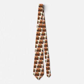 Vintage Cigar Label Art, Checkers Mild and Mellow Neck Tie
