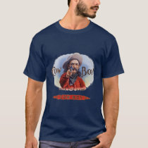 Vintage Cigar Label Art, Cowboy Hits the Mark T-Shirt