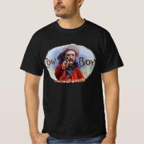 Vintage Cigar Label Art, Cowboy Hits the Mark T-Shirt