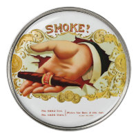 Vintage Cigar Label Golf Ball Marker