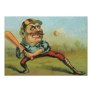 Vintage Cigar Label, Sports Baseball Tansill Punch Card