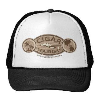 Vintage Cigar Tourism Logo Trucker Hat