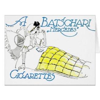 Vintage Cigarette Ad 1914 Card