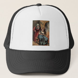 Vintage Cinderella and her Fairy Godmother Trucker Hat