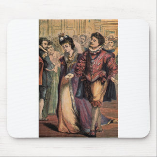 Vintage Cinderella and Prince at the Ball Mouse Pad