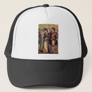 Vintage Cinderella and Prince at the Ball Trucker Hat