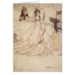 Vintage Cinderella (Ashenputtel) by Arthur Rackham Greeting Card
