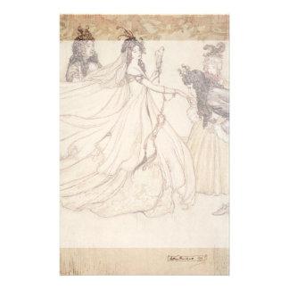 Vintage Cinderella (Ashenputtel) by Arthur Rackham Stationery