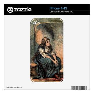Vintage Cinderella Being Sad Skins For The iPhone 4S