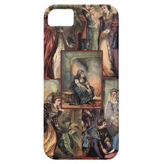 Vintage Cinderella Christmas Montage iPhone 5 Cases