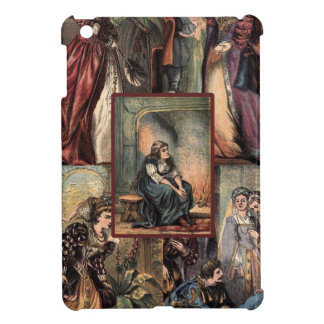 Vintage Cinderella Christmas Montage Cover For The iPad Mini