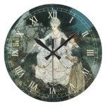 Vintage Cinderella Fairy Godmother by Edmund Dulac Wall Clocks
