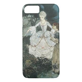 Vintage Cinderella Fairy Godmother by Edmund Dulac iPhone 8/7 Case