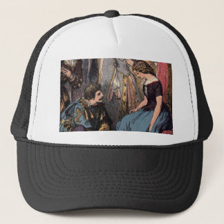 Vintage Cinderella Fitting the Glass Slipper Trucker Hat