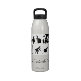 VIntage Cinderella Story by Arthur Rackham Water B Drinking Bottle