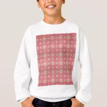 vintage circle pattern sweatshirt