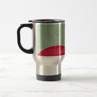 Vintage Circles Travel Mug