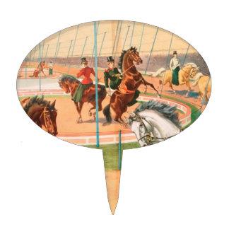 Vintage: circo Barnum y Bailey - Figura De Tarta