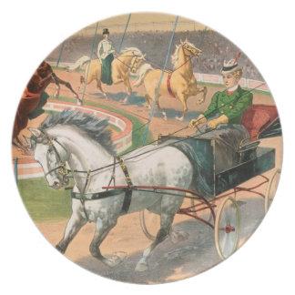 Vintage: circo Barnum y Bailey - Plato