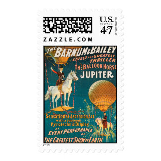 Vintage: circo Barnum y Bailey - Sellos Postales