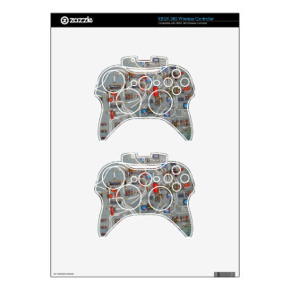 Vintage Circuit Board Electronics Xbox 360 Controller Skins