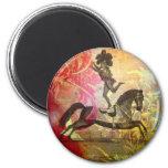 Vintage Circus 2 Inch Round Magnet