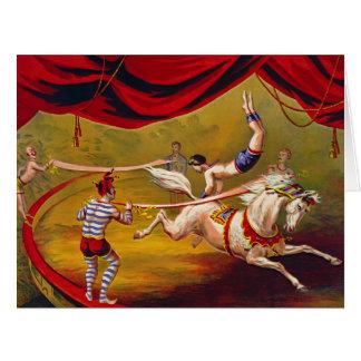 Vintage Circus Ad 1875 Card