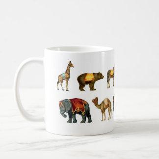 Vintage Circus Animals Mug