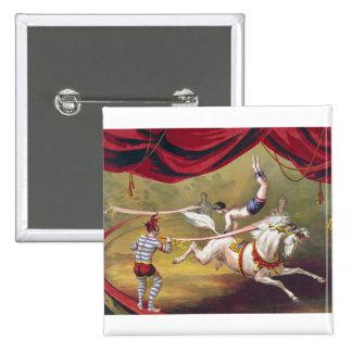 Vintage Circus Art Pin