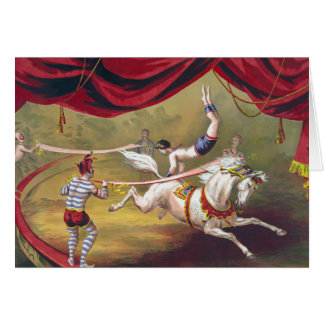 Vintage Circus Art Cards