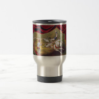 Vintage Circus Art 15 Oz Stainless Steel Travel Mug