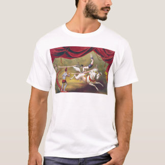 Vintage Circus Art T-Shirt