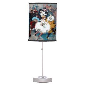 Vintage Circus Ballerina poster Desk Lamp