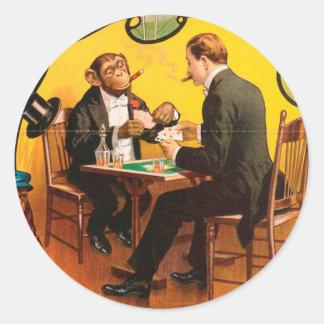 Vintage : circus Barnum & Bailey - Classic Round Sticker