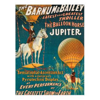 Vintage circus Barnum Bailey - Post Card