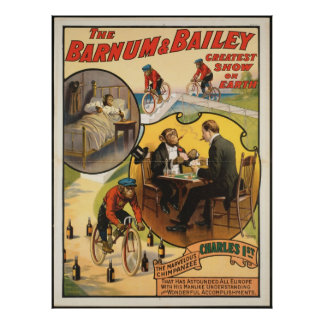 Vintage : circus Barnum & Bailey - Posters