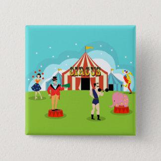 Vintage Circus Button