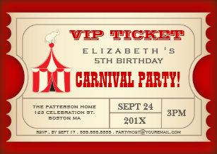 vintage birthday invitations zazzle