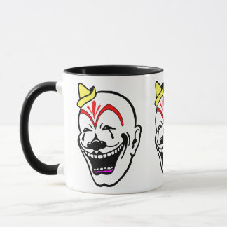 Vintage Circus Clown Mug