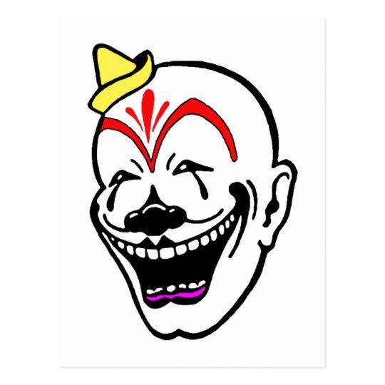 Vintage Circus Clown Postcard