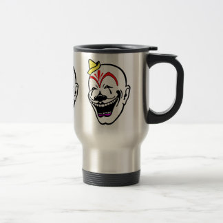 Vintage Circus Clown Travel Mug