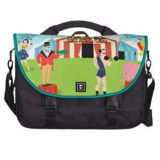 Vintage Circus Commuter Laptop Bag